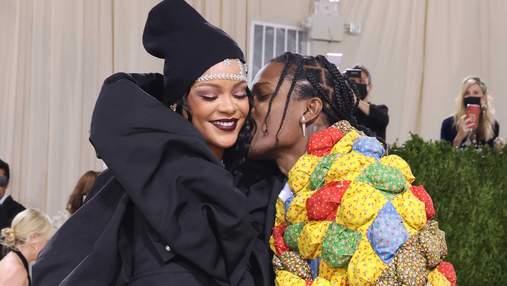 A$AP Rocky надел на Met Gala одеяло, которое нашел на секонд-хенде: владелица его узнала