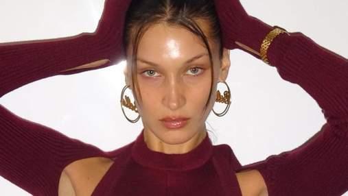Як ниточки: Белла Хадід повертає в моду забутий б'юті-тренд – ефектні фото