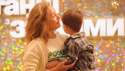 """Олена Шоптенко взяла сина на """"Танці з зірками"""": зірка розповіла, як реагував малюк"""