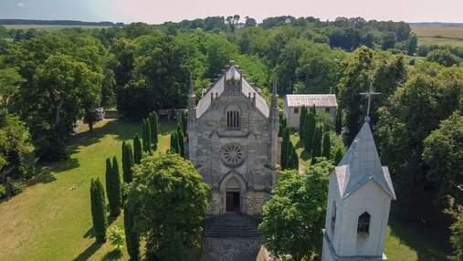 Путешествие в Подольские Товтры: готический костел в сельской глубинке и экзотический водопад