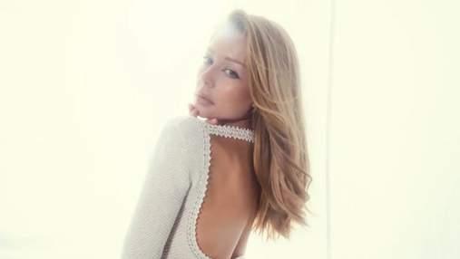 Тина Кароль позирует в сетчатом прозрачном платье из конопли: удивительный образ