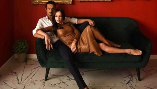 """Поломанные цветы и выброшенные кроссовки: муж Кухар рассказал об """"итальянской"""" ссоре с женой"""