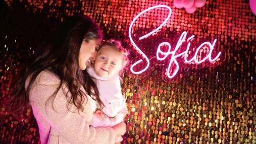 Санта Дімопулос показала, як пройшов казковий день народження доньки: приголомшливе відео