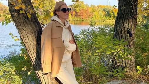 Катя Осадча підкорила образом у вбранні від українського бренду: стильні фото