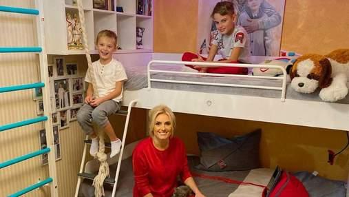 Ирина Федишин показала детскую комнату: фото домашнего образа звезды