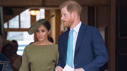 Принц Гаррі та Меган Маркл хреститимуть доньку не у Великій Британії, – ЗМІ