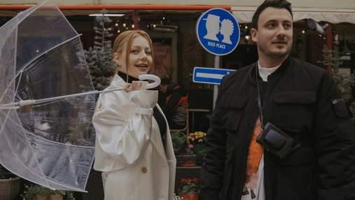 Тіна Кароль та Ivan NAVI прогулялися Львовом: атмосферне відео