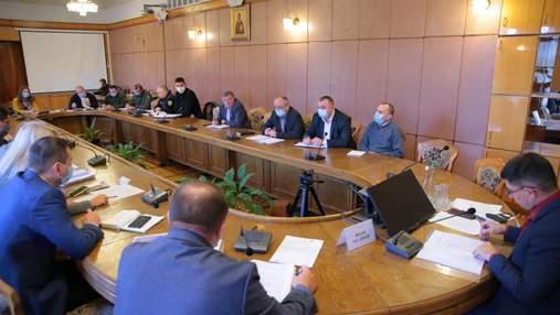 На Львовщине объявили чрезвычайную ситуацию из-за отсутствия газа в бюджетных учреждениях