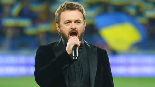 """Дзиздьо исполнит гимн Украины на """"Арене Львов"""" перед матчем с боснийцами"""