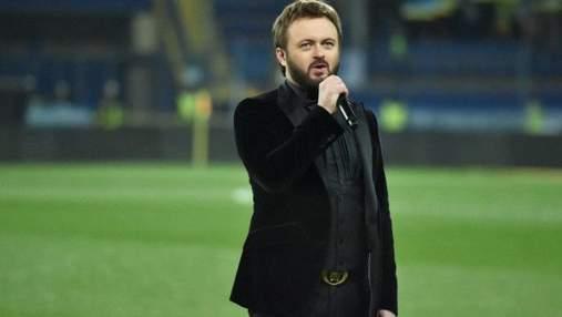 Мурашки по коже: Дзидзьо исполнил гимн Украины на матче сборной по футболу – видео