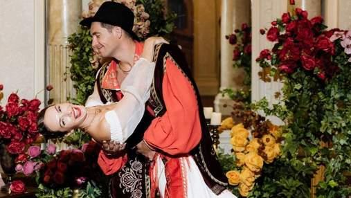 Жена Владимира Остапчука отпраздновала день рождения в цыганском стиле: фото с вечеринки