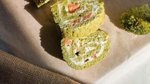 Панський рулет із броколі та лосося, від якого всі будуть у захваті