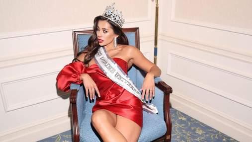 """Победительница """"Мисс Украина Вселенная"""" призналась, чем закончился скандал с ее бывшим-абьюзером"""