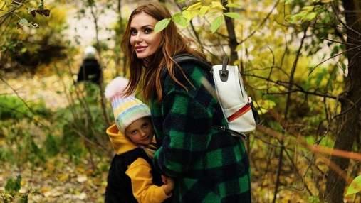 Слава Каминская провела выходной с экс-мужем и детьми: миловидные фото из парка