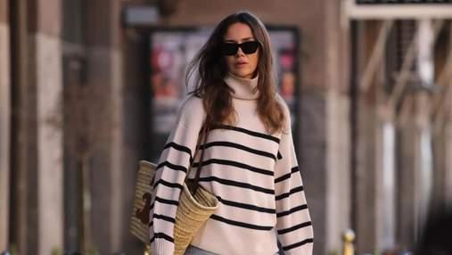Какие свитера носить в холодное время: интересные варианты показывают скандинавские модницы