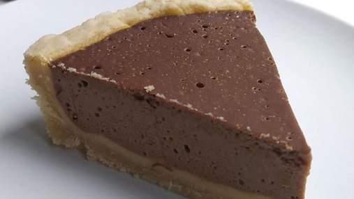 Тарт із гарбузово-шоколадним суфле: ідеальна осіння випічка до какао