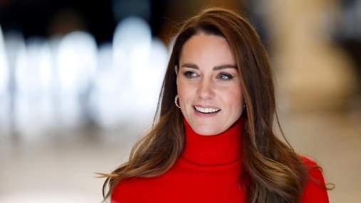 Королівський червоний: образи Кейт Міддлтон, які не залишають байдужими – фото
