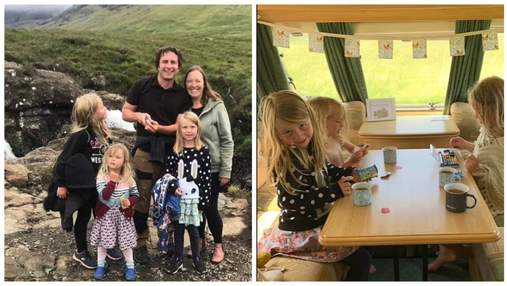 Захотіли пригод: пара продала будинок і подорожує з 3 дітьми по країні