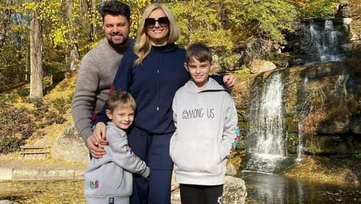 Ірина Федишин показала, як провела з сім'єю осінні канікули: яскраві фото