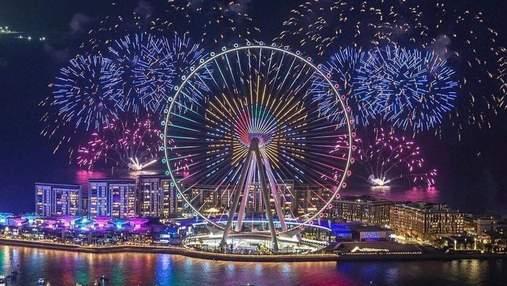 """""""Дубайське око"""": в ОАЕ відкрили найбільше колесо огляду у світі – запаморочливе відео та фото"""