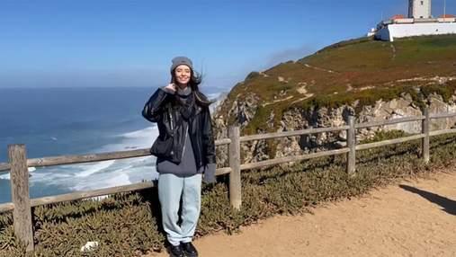 Надя Дорофеева отдыхает в Португалии: живописное видео