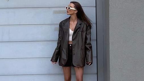 Шкіряний жакет – мастхев осіннього гардероба: 7 стильних образів