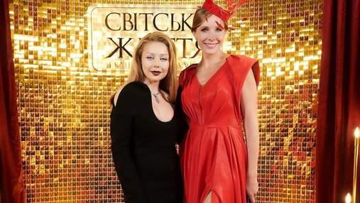 Катя Осадча приміряла розкішну червону сукню: фото вечірнього образу