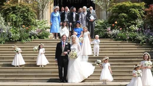 Королівське весілля леді Габріелли Віндзор: опубліковані офіційні фото церемонії
