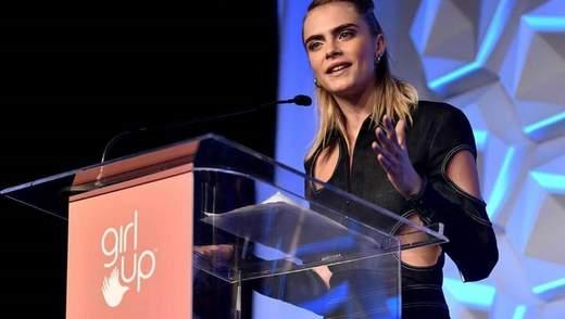 Британська модель Кара Делевінь візьме участь в документальному серіалі про сексуальність