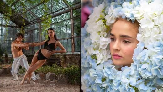 Супер топ-модель по-украински 4 сезон 2 выпуск: волшебная фотосессия в белье и дефиле с цветами