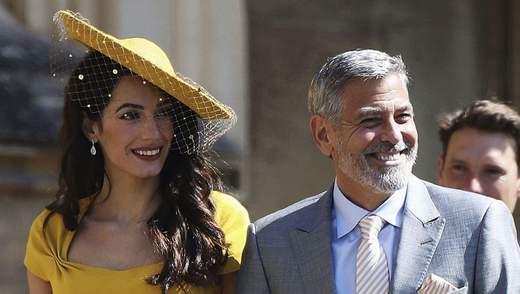 Джордж та Амаль Клуні не знали принца Гаррі та Меган до запрошення на їхнє весілля