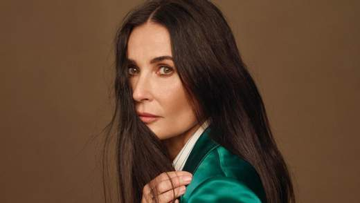 Догляд за тілом, обличчям та волоссям від Демі Мур: секрети краси акторки