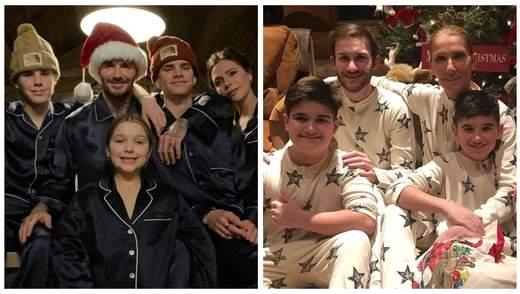 Вікторія Бекхем, Селін Діон, Іванка Трамп: як знаменитості святкують Різдво – сімейні фото