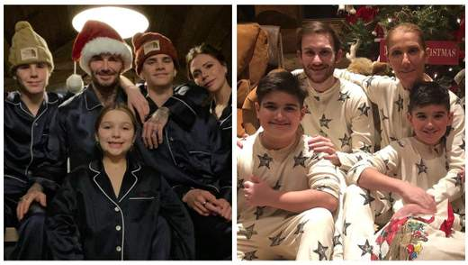 Виктория Бекхэм, Селин Дион, Иванка Трамп: как знаменитости празднуют Рождество – семейные фото