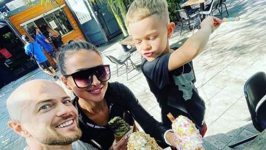 С сыном и женой: Влад Яма показал новое яркое фото из Майами