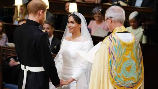 Представник Меган і Гаррі зізнався, що офіційного таємного весілля справді не було