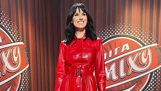 Маша Ефросинина показала 6 стильных телевизионных образов: фото